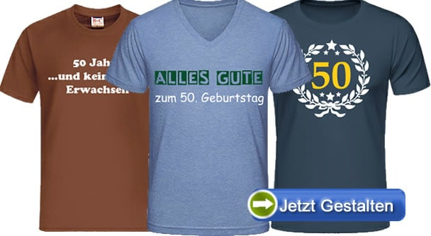 t shirt zum 50 geburtstag bedrucken 50 jahre t shirt. Black Bedroom Furniture Sets. Home Design Ideas
