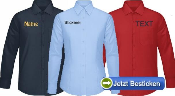 Bestickte-Hemden
