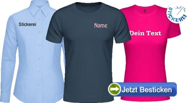 Bestickte-Shirts