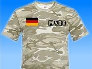 Deutschland-Flaggenshirt