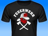 Feuerwehr-Totenkopf-Shirt