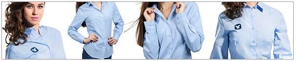 Frauenhemden-Stickerei