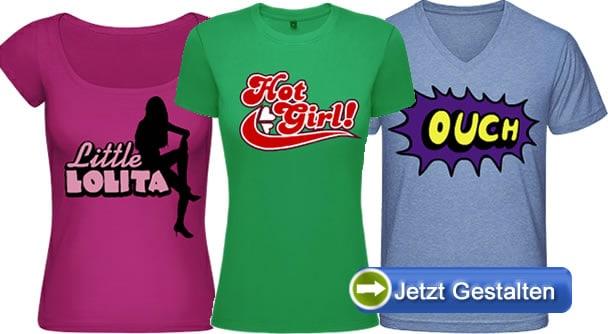 Freche-Shirtmodelle
