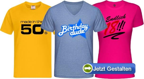 Geburtstag-t-shirt-varianten
