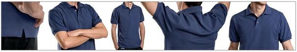 Herren-Shirt-details