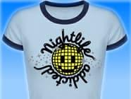 Nightlife-addicted-Damen-Smileyshirt
