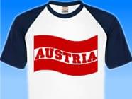 Oesterreich-Flaggenshirt