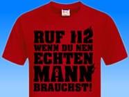 Ruf-112-an-Feuerwehr-Shirt
