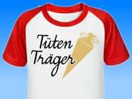 Tueten-Traeger-Einschulung-T-Shirt