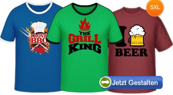 Uebergroessen-Shirts
