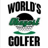 Golfershirt - worlds-okayest-golfer